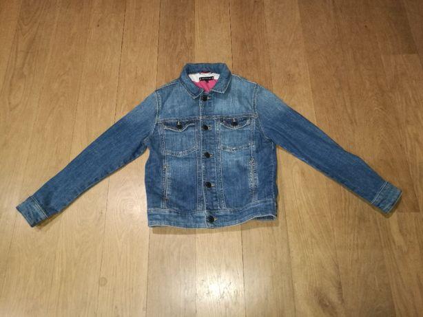 Kurtka jeansowa TOMMY HILFIGER rozm. 140, chłopiec