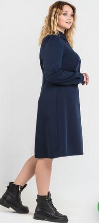 Платье из костюмной ткани VOVK (3xl)