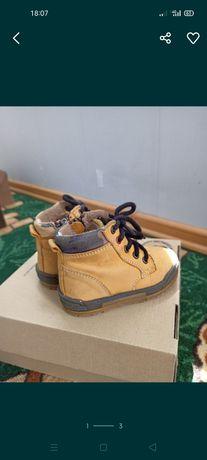Осень Кожаные ботинки Бартек