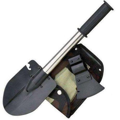 Туристическая лопата складная саперная 5 в 1,в чехле. ОПТ и розница.