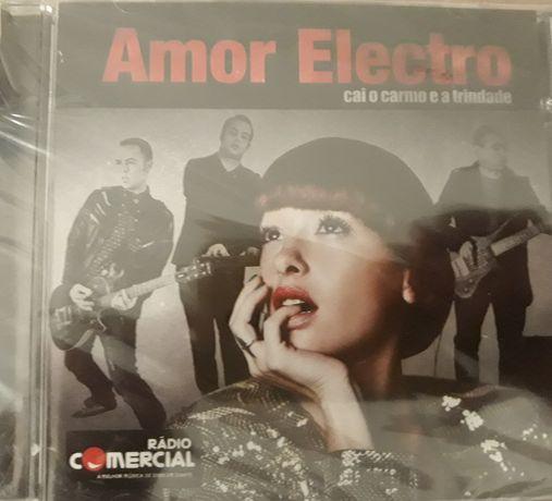 CD Amor Electro - Cai o Carmo e a Trindade (EMBALADO)