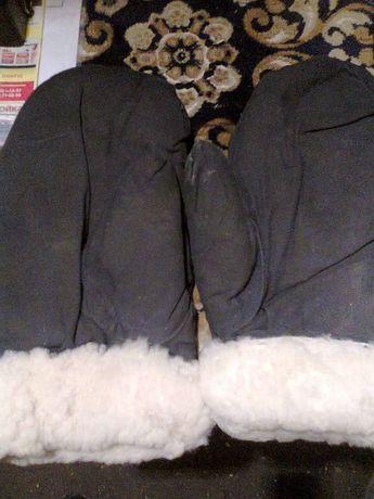 Тёплые варешки/рукавички