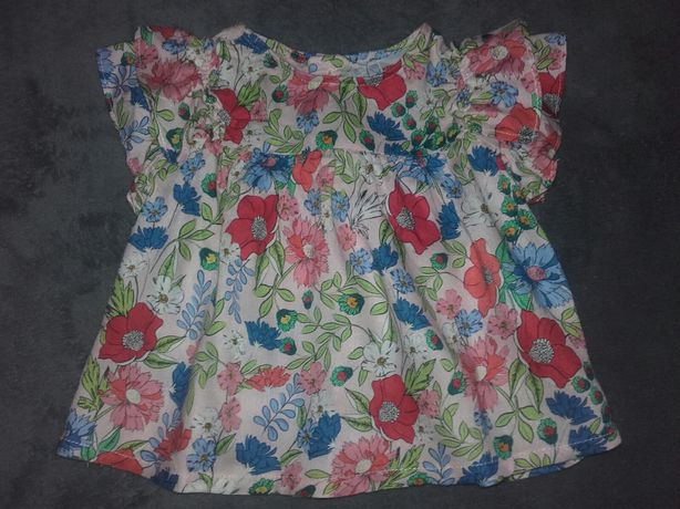 Koszula ZARA r. 74/80