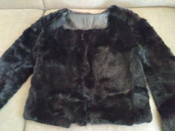 мех натуральный шарф черный меховой искусственный мех шуба полушубок