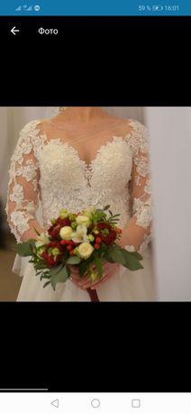 Продам или сдам на прокат шикарное свадебное платье!