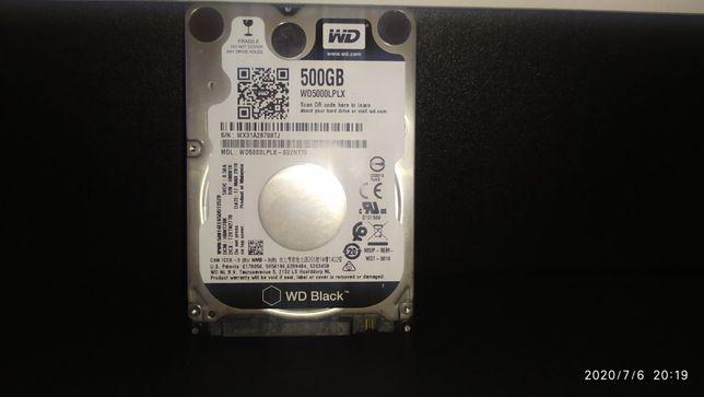 Twardy dysk WD Black do laptopa 500gb 7200rpm. 32mb