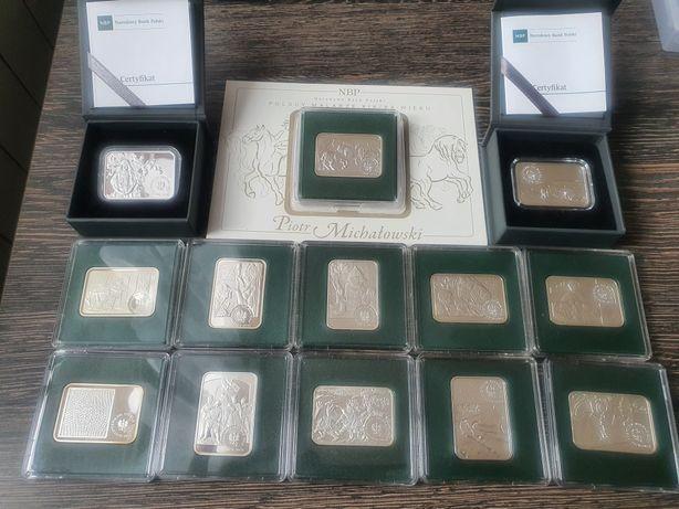 Polscy Makarze XXI/XX wieku cała seria monet