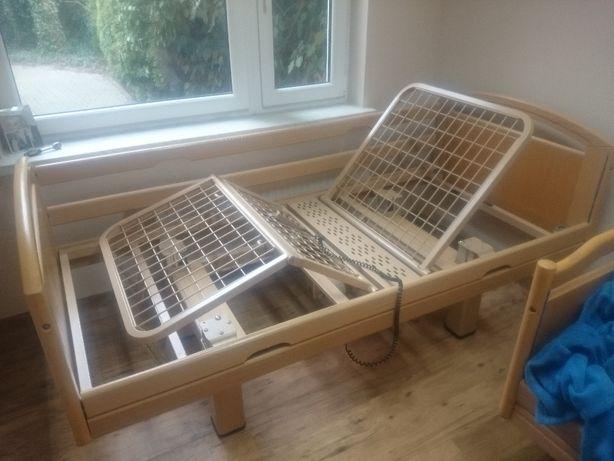 Łóżko rehabilitacyjne z materacem nowym i montażem - na pilota