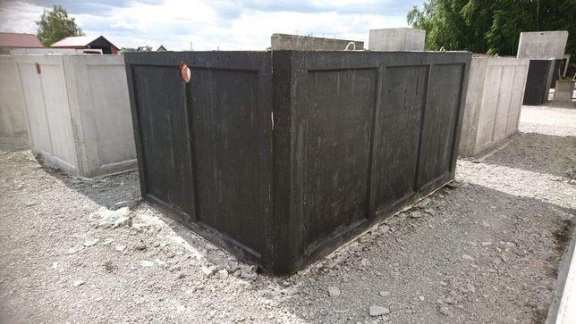 Zbiornik na szambo Szamba betonowe Zbiorniki z betonu z gwarancja