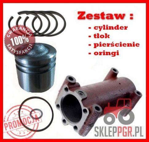 ZESTAW cylinder+ tłok + kpl. pierścieni PODNOŚNIKA URSUS C-330 C330 PL