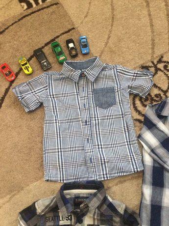 Детские фирменные рубашки