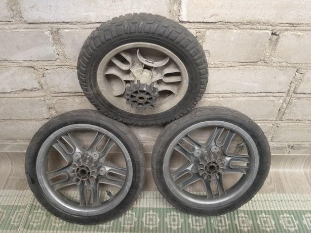 Запасные колеса для коляски d: 27cm