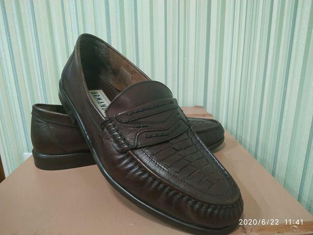 Летние туфли 44 рр 28,5 см