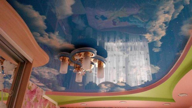 Натяжные потолки Бердичев от 130 грн
