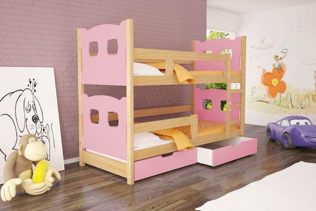 Nowoczesne łóżko piętrowe dla młodzieży OLEK!