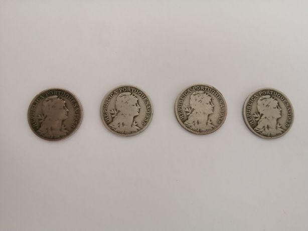 Moedas de 50 centavos 1935