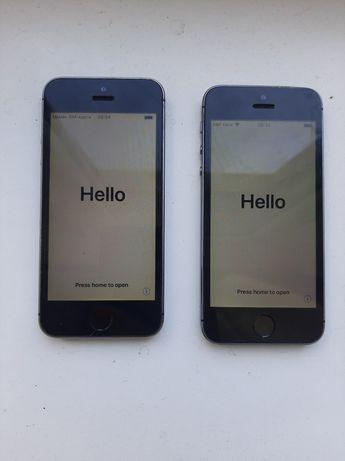 iPhone 5s 2шт на айклауді 500 за два!