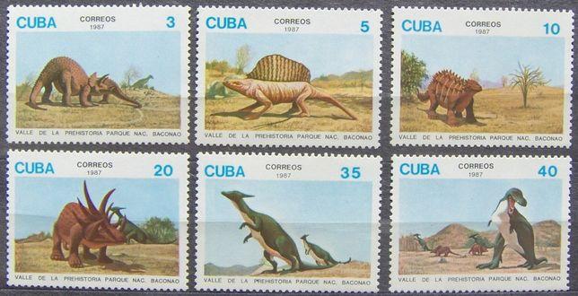 Znaczki Kuba 1987 stan** całe serie 2