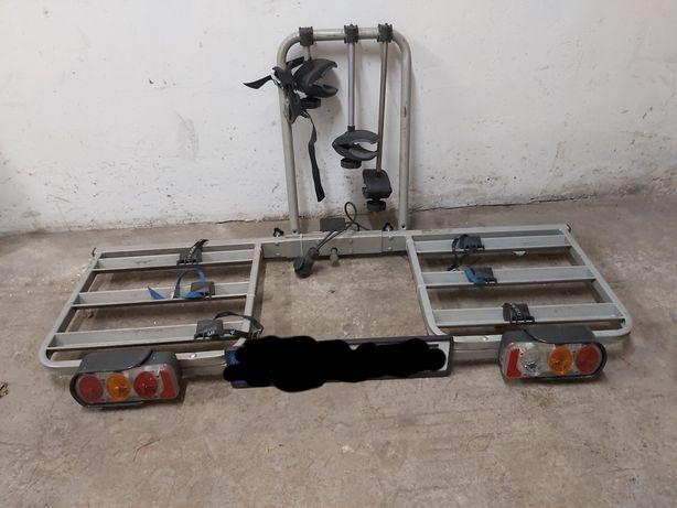 Bagażnik platforma na 3 rowery na hak