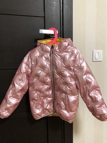 Курточка зимняя 104-110