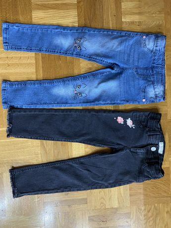 Spodnie jeansy roz. 104-110