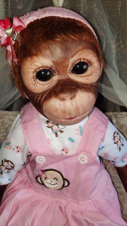 Реборн обезьянка. Реалборн. Ручной работы. Кукла. Пупс. Лялька