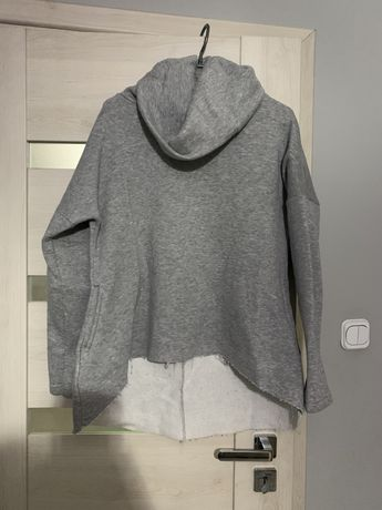 Bluza asymetryczna szara rozmiar L