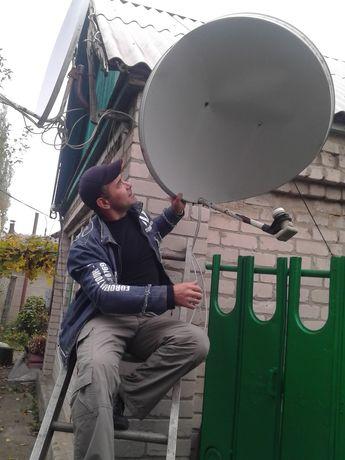 Ремонт спутниковых антенн.весь спектр услуг.