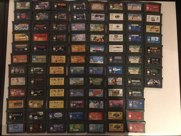 Jogos Nintendo GameBoy advance