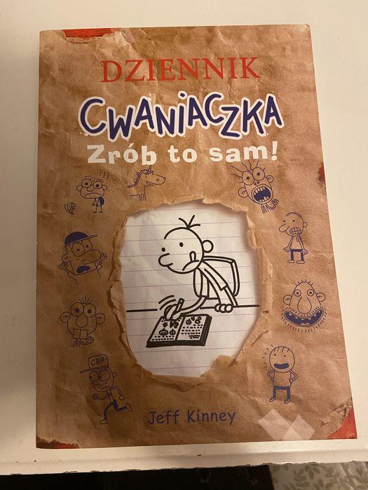Ksiazka pt dziennik cwaniaczka- zrob to sam Warszawa - image 1