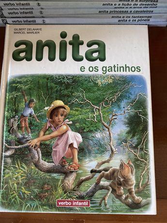 Livros da Anita como novos