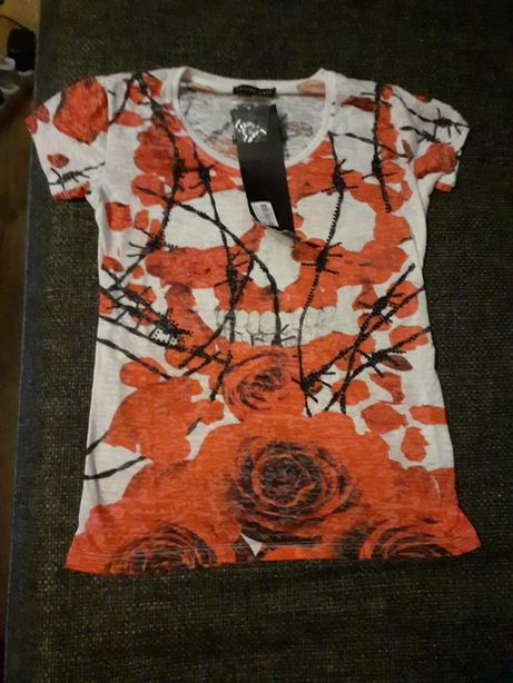 Bluzka koszulka philipp plein nowa tanio