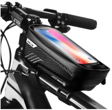 Bolsa impermeável bicicleta para telemóvel