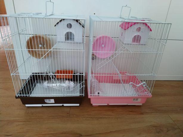 Gaiola nova de hamster de 3 pisos