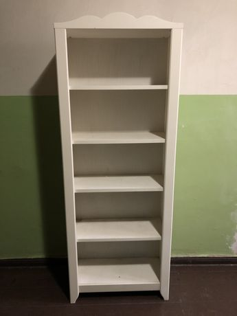 Regał Ikea Hemmes 190x70 biały klasyczny