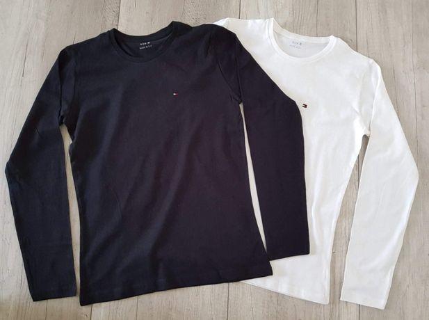Tommy Hilfiger T-shirt damski logo haft longsleeve
