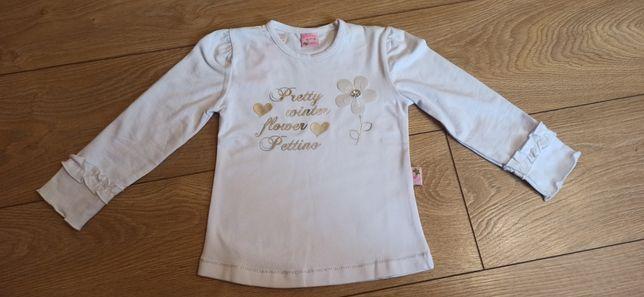 Bluzeczka dziewczęca Pettino r. 104