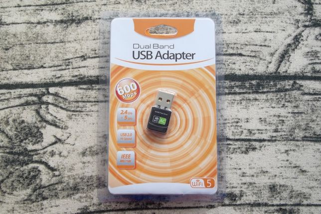 Двухдиапазонный WiFi адаптер до 433 Мбит/с 802.11AC (RTL8811), EDUP