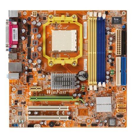 Материнская плата Foxconn WinFast 6100M2MA-RS2H в рабочем сост. торг