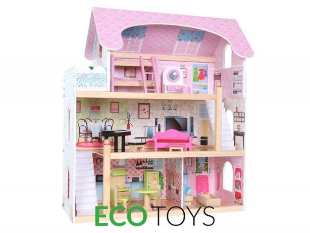 Кукольный домик Ecotoys резиденция Bajkowa Байкова