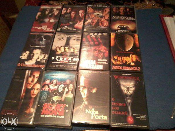 VHS Diversos Terror
