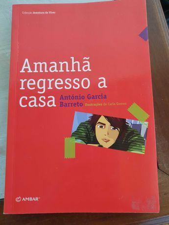 """Livro """"Amanha regresso a casa"""" em bom estado"""