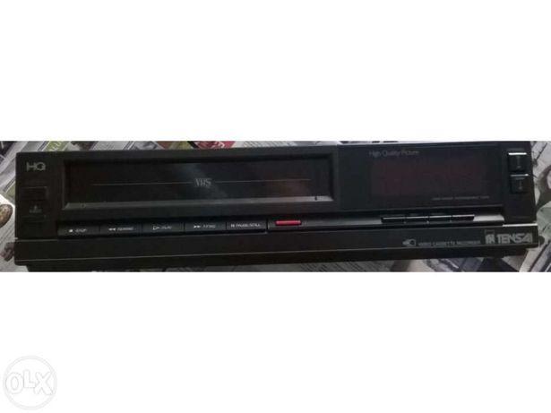 Leitor gravador video vhs com avaria hq tensai