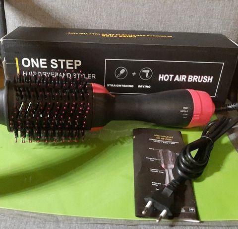 Фен расчёска щётка стайлер выпрямитель для укладки волос