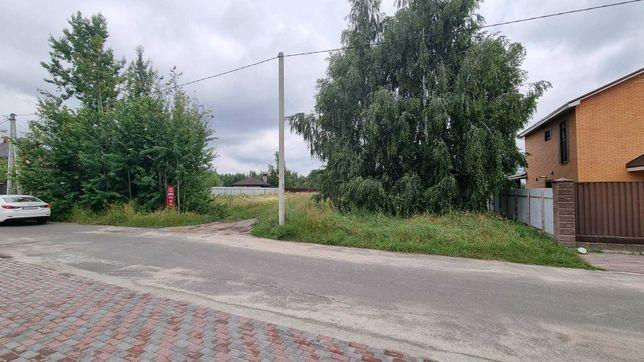 Земля у Ворзелі 10сотк всі комунікації поруч газ,електрика без комісії