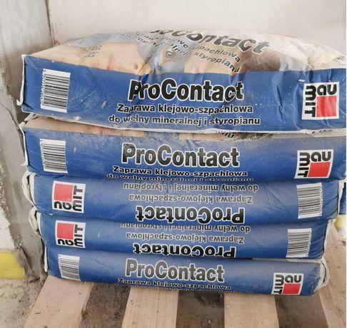 Baumit ProContact zaprawa klejowo-szpachlowa do wełny mineralnej 25kg