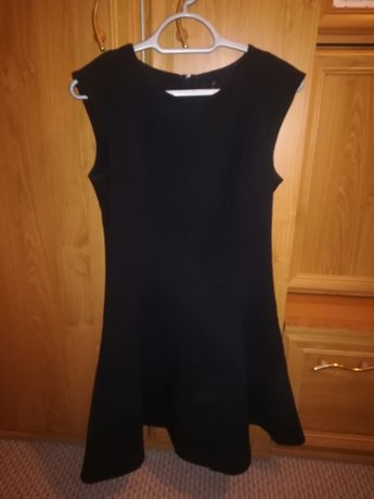 Czarna sukienka rozm 38
