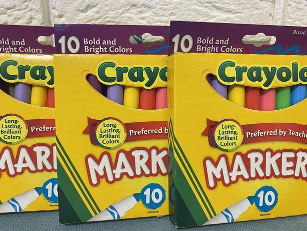 Фломастеры Crayola, 10 шт