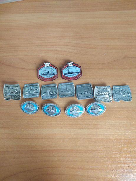 Значки Корабли СССР