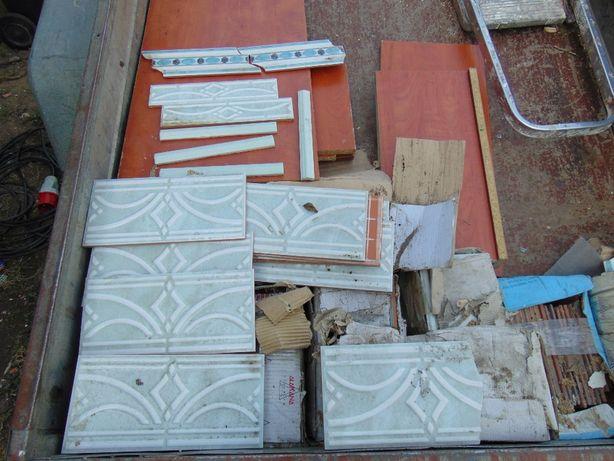 Płytki ceramiczne, dekory - NOWE różne rodzaje